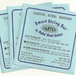 Carter S.I.T. 'Smart Set' Nickel C6 10 String – 3 Set Special