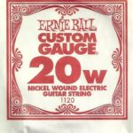 Ernie Ball Nickel Wound 20w Single String