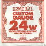 Ernie Ball Nickel Wound 24w Single String