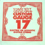 Ernie Ball Plain .017 String Plain Electric & Acoustic Strings