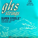 GHS ST-C6 Super Steels Stainless 10 String Set