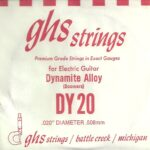 GHS 'Dynamite Alloy' DY20 Wound String