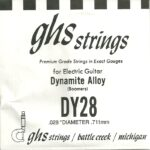 GHS 'Dynamite Alloy' DY28 Wound String