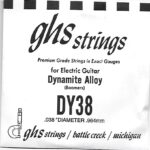 GHS 'Dynamite Alloy' DY38 Wound String