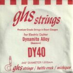 GHS 'Dynamite Alloy' DY40 Wound String