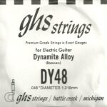 GHS 'Dynamite Alloy' DY48 Wound String