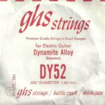 GHS 'Dynamite Alloy' DY52 Wound String