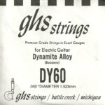 GHS 'Dynamite Alloy' DY60 Wound String