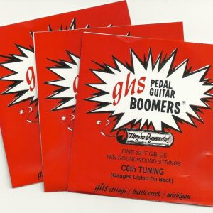 GHS GB-C6 Boomers Dynamite Alloy 10 String '3 Set Special'