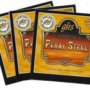 GHS ST-E9 Super Steels, Stainless Steel E9th '3 set special'
