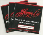 George L's Nashville E9th Stainless Steel E9th 10 String '3 Set Special'