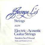 George L's Stainless .022 Wound String