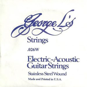 George L's Stainless .026 Wound String
