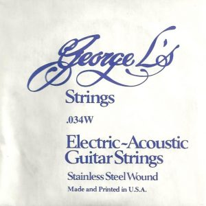 George L's Stainless .034 Wound String