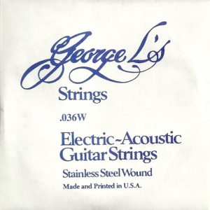 George L's Stainless .036 Wound String