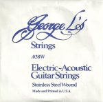 George L's Stainless .038 Wound String