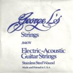 George L's Stainless .046 Wound String