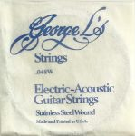George L's Stainless .048 Wound String