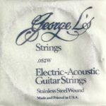 George L's Stainless .052 Wound String