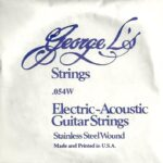 George L's Stainless .054 Wound String