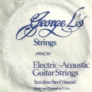 George L's Stainless .060 Compound Wound String