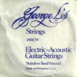 George L's Stainless .066 Compound Wound String