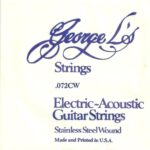 George L's Stainless .072 Compound Wound String