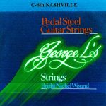George L's Nashville C6th Bright Nickel 10 String Set