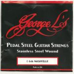 George L's Nashville C6th Stainless Steel 10 String Set
