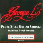 George L's Nashville E9th Stainless Steel 10 String Set