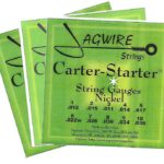 Jagwire CSE9-36N Carter-Starter Nickel E9th 10 String 3 Set Special