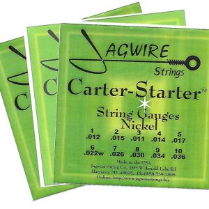 Jagwire CSE9-36N Carter-Starter Nickel E9th 10 String '3 Set Special'