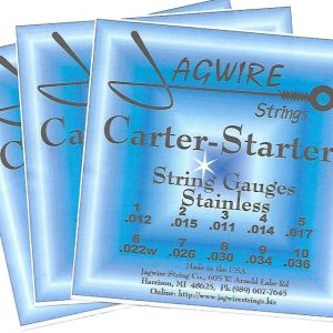 Jagwire CSE9-36S Carter-Starter Stainless E9th 10 String '3 Set Special'