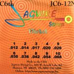 Jagwire JC6-12N Nickel 10 String Set