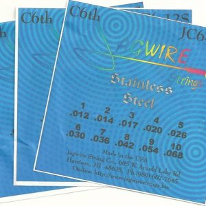 Jagwire JC6-12S Stainless C6th 10 String, 3 Set Special