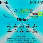 Jagwire JE9-36N Nickel E9th 10 String Set
