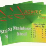 Jagwire JE9-36S Stainless Steel E9th 10 String '3 Set Special'