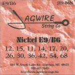 Jagwire JE9-B6N Nickel Universal 12 String Set