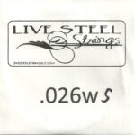 LIVE Stainless .026S Wound String