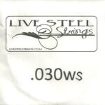 LIVE Stainless .030S Wound String
