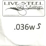 LIVE Stainless .036S Wound String