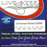 LIVE Nickel E9/B6 Universal 12 String Set