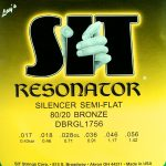 S.I.T. Resonator Semi-Flat 80/20 Bronze