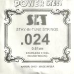 SIT Stainless .024 Wound String