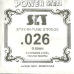 SIT Stainless .026 Wound String