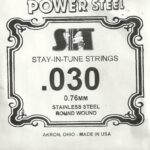 SIT Stainless .030 Wound String