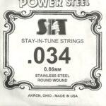 SIT Stainless .034 Wound String