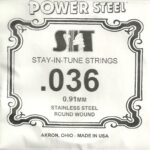 SIT Stainless .036 Wound String