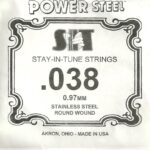 SIT Stainless .038 Wound String