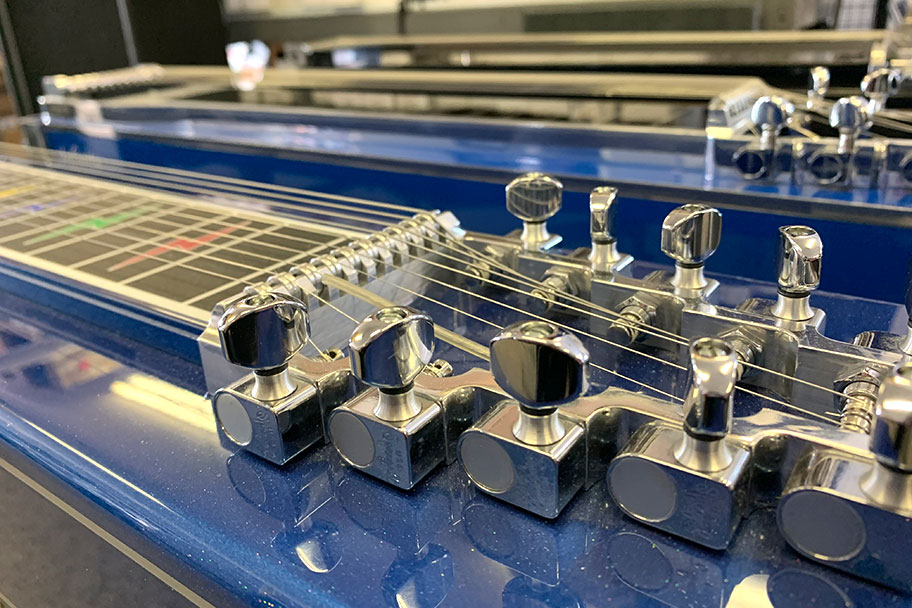 Steel Guitars In The SGC Shop